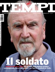 La copertina di Tempi