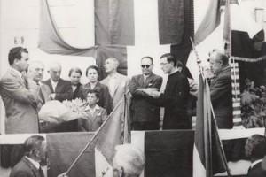 Estate 1950, Eugenio Corti riceve la medaglia d'argento al valore militare