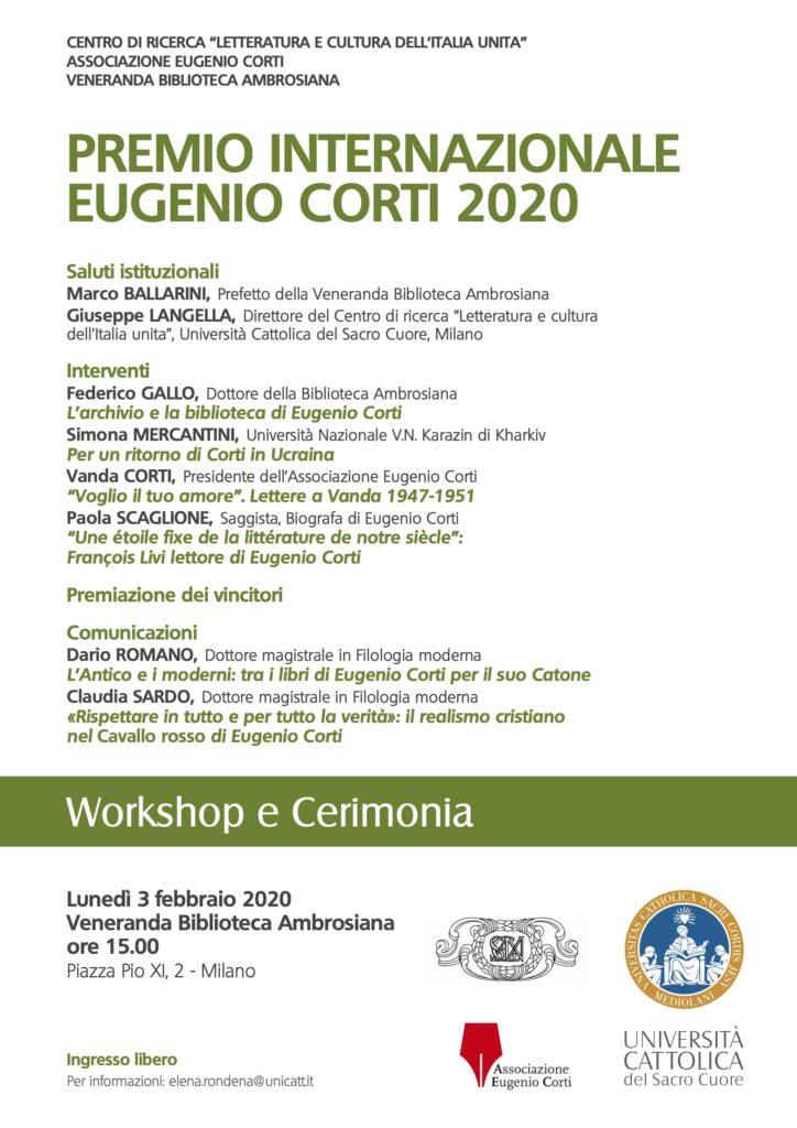 20200123 - Locandina Premio Eugenio Corti 2020