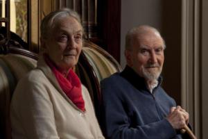 Eugenio e Vanda Corti ritratti da Roberto Nistri