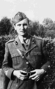 Eugenio Corti allievo ufficiale nel 1941