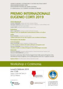 20190204 - Locandina Premio Eugenio Corti 2019